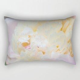 Lush Peony Rectangular Pillow