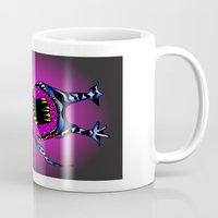 third eye Mugs featuring Third Eye by MysticMonk