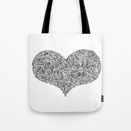 All I need - Lyrics doodle Tote Bag