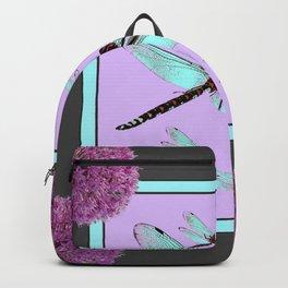 SPRING  BLUE DRAGONFLY FLIGHTS MODERN ART DESIGN Backpack