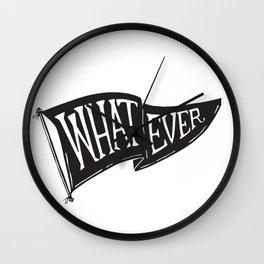 Whatever Flag Wall Clock