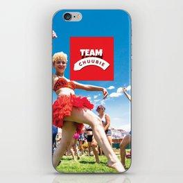 Team Chuubie iPhone Skin