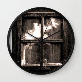 Ventana al pasado Wall Clock