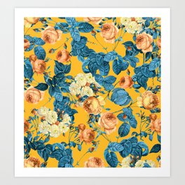 Summer Botanical II Art Print