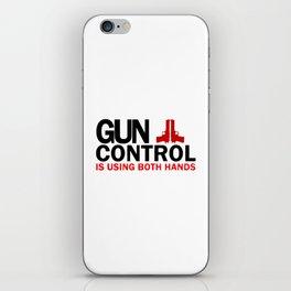Gun Control iPhone Skin