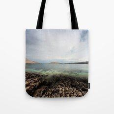 Under horizon Tote Bag
