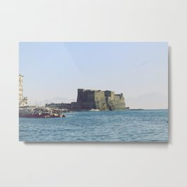 Naples, Castel dell'Ovo Metal Print