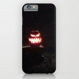 Pumpkin Bob iPhone Case