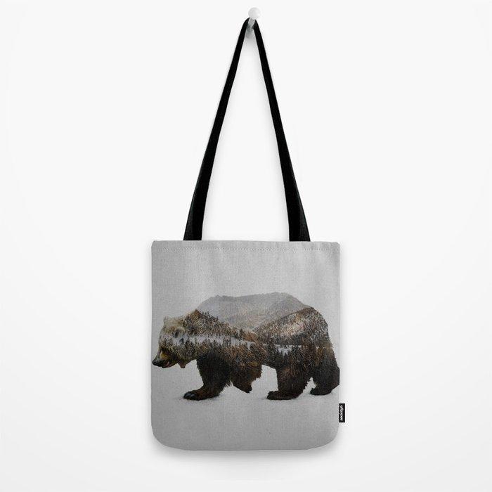 The Kodiak Brown Bear Tote Bag