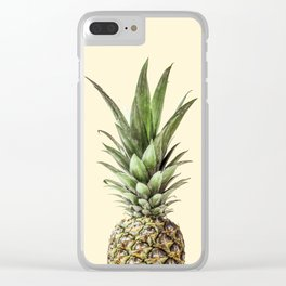 Pineapple Fruit Photography | Summer Happy Tropical Vibes | Art Clear iPhone Case