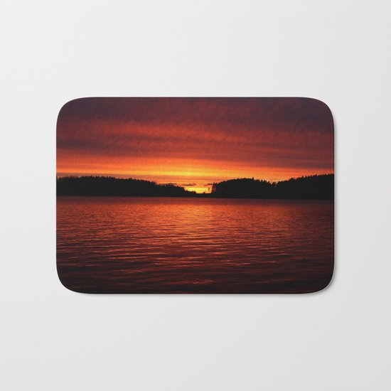Sunset in April Bath Mat