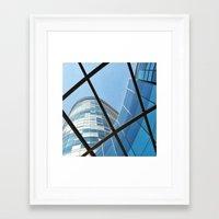 matrix Framed Art Prints featuring matrix by resonate