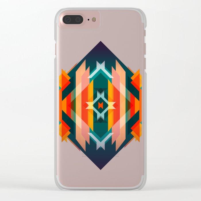 Broken Diamond - Incalescence Clear iPhone Case