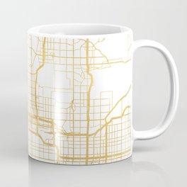 PHOENIX ARIZONA CITY STREET MAP ART Coffee Mug