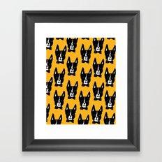 Boston Terriers Framed Art Print