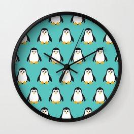 PENGU Wall Clock