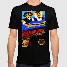 Super Corleone Bros Black Mens Fitted Tee MEDIUM