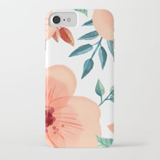 FLOWERS WATERCOLOR 2 Slim Case iPhone 7