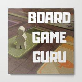 BOARD GAME GURU Metal Print