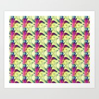 trippy Art Prints featuring Trippy by Idle Amusement