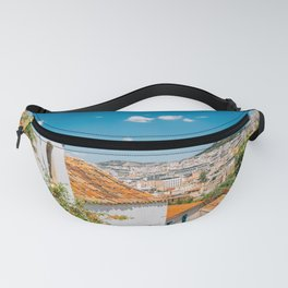 Plaka district in Athens Fanny Pack