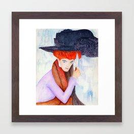 Agatha Framed Art Print
