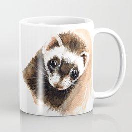 Ferret portrait Coffee Mug