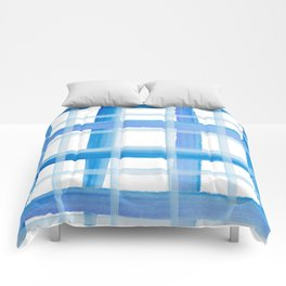 Blue Stripes Comforters