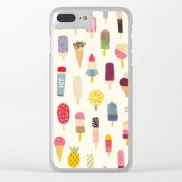 Pop Pop Popsicles! Clear iPhone Case