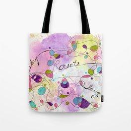 Flourish: Play. Create. Laugh. Tote Bag