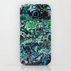 Turquoise Garden of Glass Slim Case Galaxy S7
