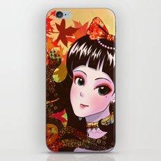 Autumn Maiden iPhone & iPod Skin