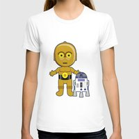 c3po T-shirts featuring C3PO by Jasmine Victoria