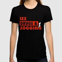 Funny Jogging Gift Idea T-shirt