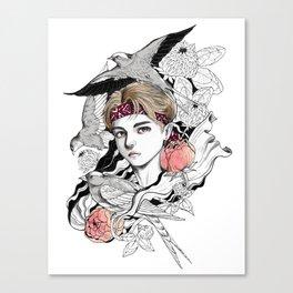 BTS V Canvas Print