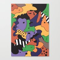 fresh prince Canvas Prints featuring Fresh Prince by Fresh Prints of Bel Air