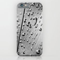 black and white drops Slim Case iPhone 6s