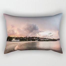 Balmoral Beach Evening Rectangular Pillow