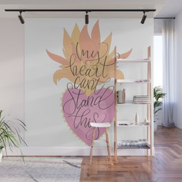 My heart can't stand this Wall Mural