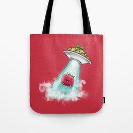 UFO. Italian Spaghetti Dreams Tote Bag