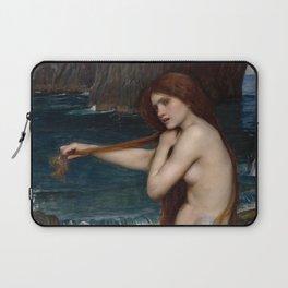 Mermaid Combing Her Hair Laptop Sleeve