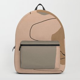 Abstract Composition 18 Backpack