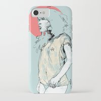 korea iPhone & iPod Cases featuring Korea Girl by Dave Long [A1W]