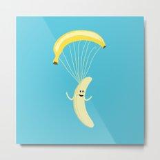 Bananachute Metal Print