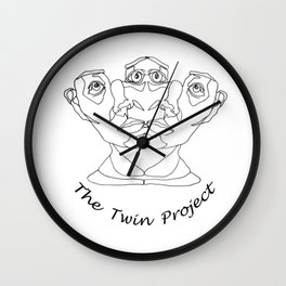 The Twin Project Wall Clock