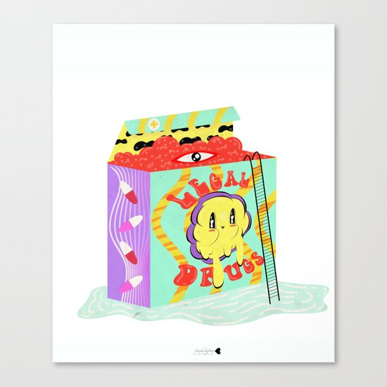 vitamina Canvas Print