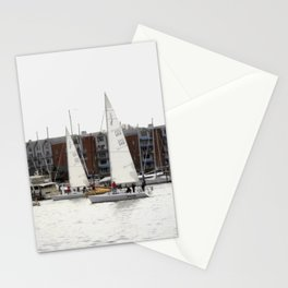 The Harbor, Annapolis - View II Stationery Cards