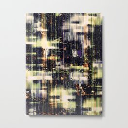 Urban Lights V.17 Metal Print