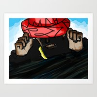 hip hop Art Prints featuring Hip/Hop by Hezron Henry