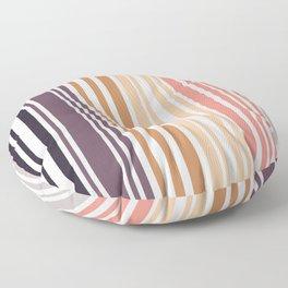 Simple murky Lines Minimalist Floor Pillow